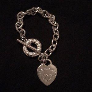 Jewelry - 925 silver toggle bracelet